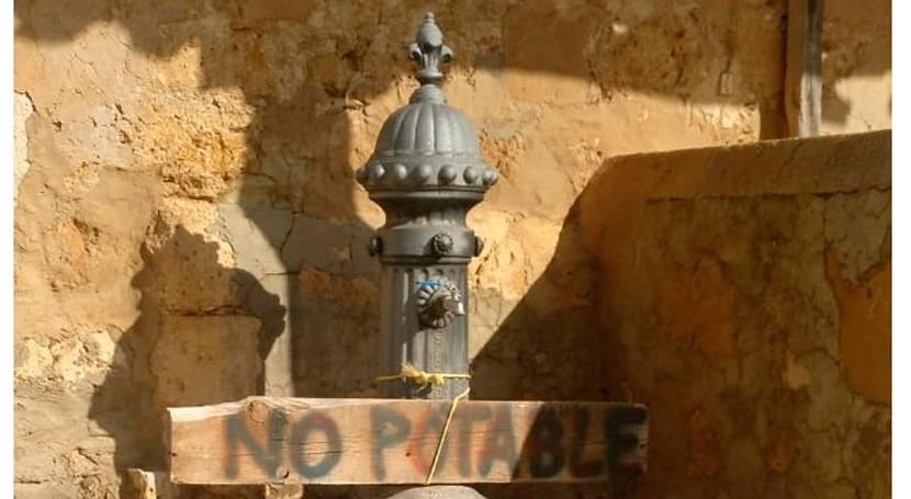 España que se vacía: ni fibra óptica, ni 4G... ni agua potable