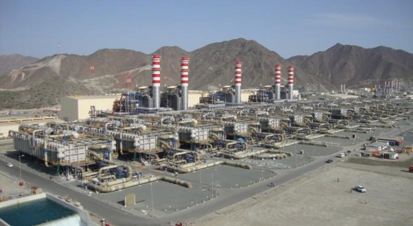 Fujairah 2, planta desaladora híbrida más grande mundo