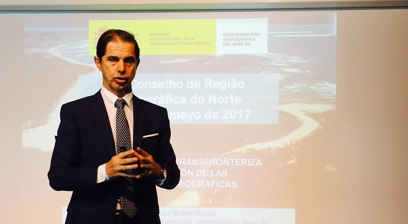 gestión cuenca Miño-Sil, ejemplo Región Hidrográfica Norte Portugal