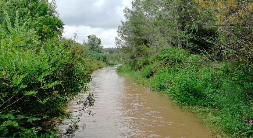 marcha liberación caudales ecológicos al Gaià toma Catllar