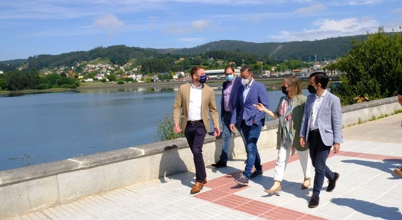 Galicia finaliza obras saneamiento Malata inversión 7,3 millones euros