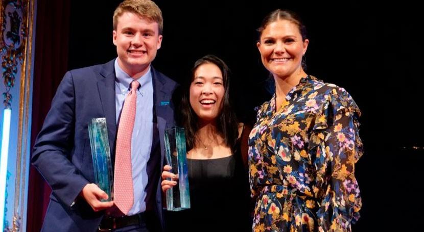 Ryan Thorpe y Rachel Chang EEUU ganan Premio Juvenil Agua Estocolmo