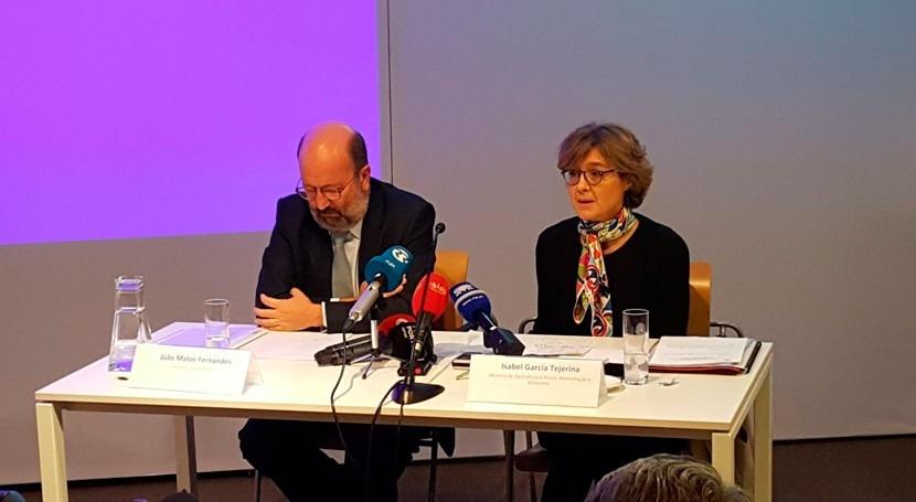 Tejerina destaca cooperación España y Portugal materia gestión agua