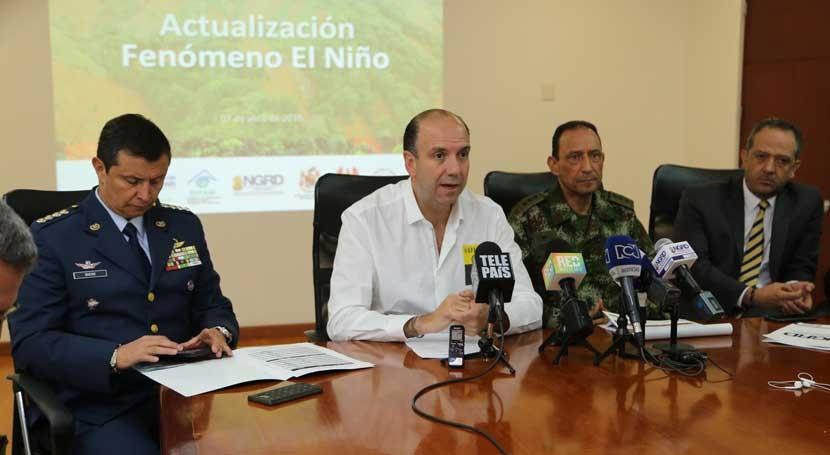 Colombia hace balance actuaciones enfrentar Fenómeno Niño