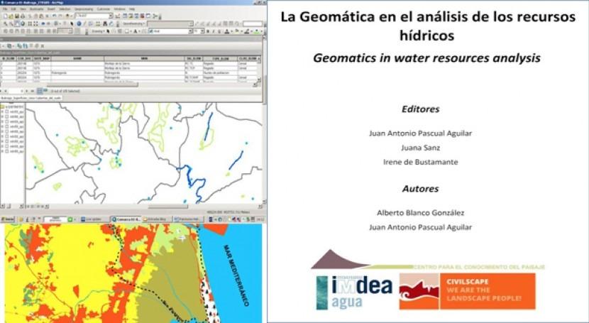 geomática análisis recursos hídricos