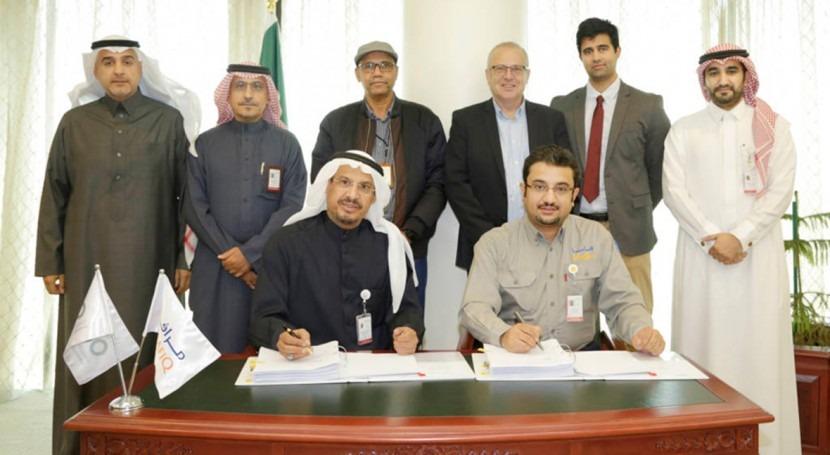 SAUR renueva alianza Marafiq explotación 3 ciudades industriales Arabia Saudí