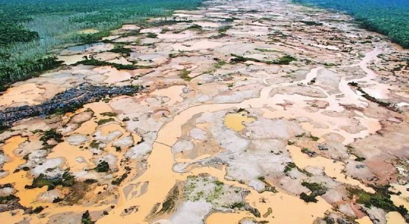 Un tema ambiental que se nos escapó: la destrucción de la Amazonía por la minería ilegal.
