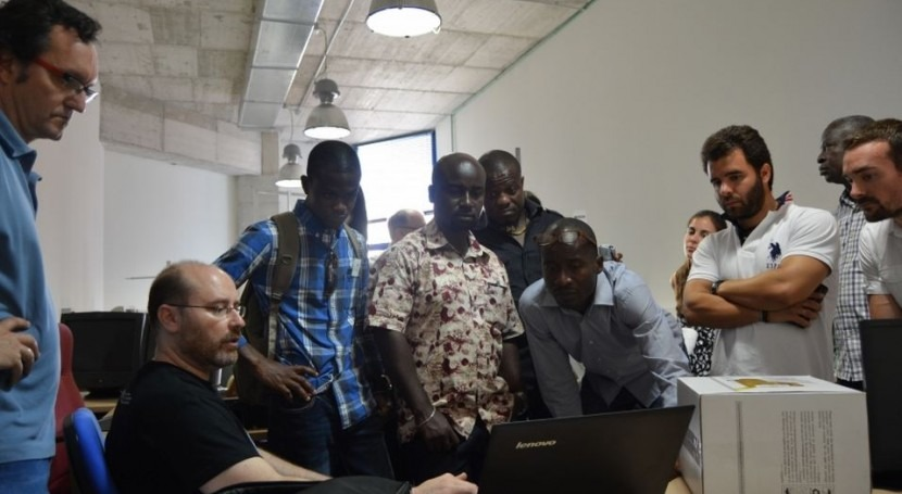 Ghana se interesa tecnología hídrica agricultura desarrollada UPCT