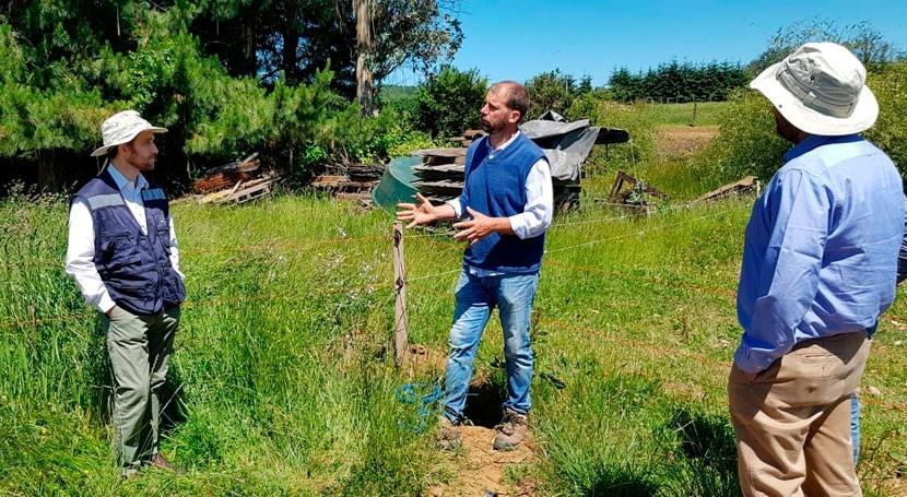 Chile valora esfuerzo agricultores incorporar sistemas riego y nuevas tecnologías