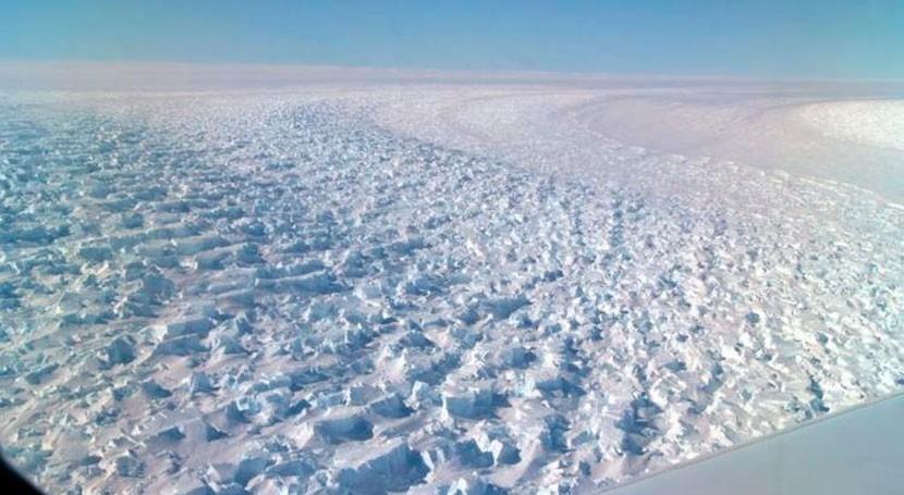 glaciar Denman retrocede 5 kilómetros últimos 22 años
