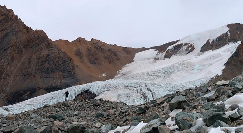 estudio demuestra que glaciares zona central Chile podrían perder hielo