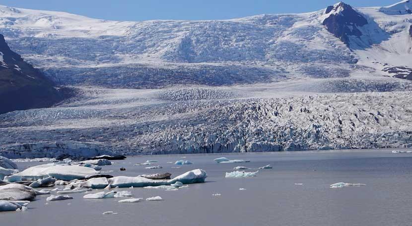 pérdida hielo marino Groenlandia pasado, vinculada eventos climáticos abruptos
