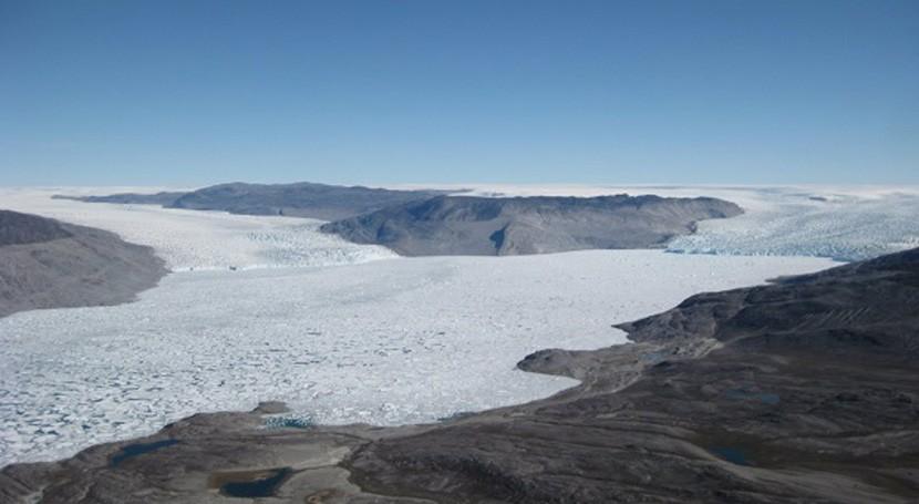 estudio muestra signos deshielo irreversible centro-oeste Groenlandia