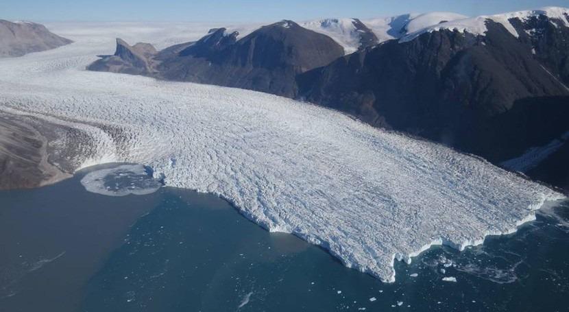 forma glaciares determina susceptibilidad fundirse