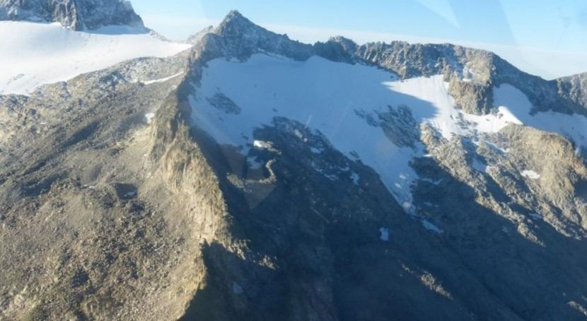 superficie glacial sur Pirineo es cuarta parte que existía hace 35 años