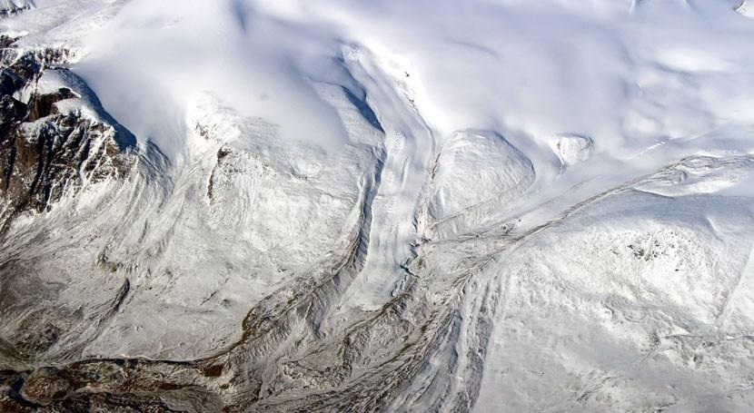 pérdida hielo glaciares canadienses supone importante subida nivel mar