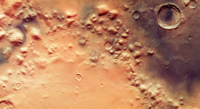 Restos antiguos glaciares revelan posibles episodios glaciación Marte