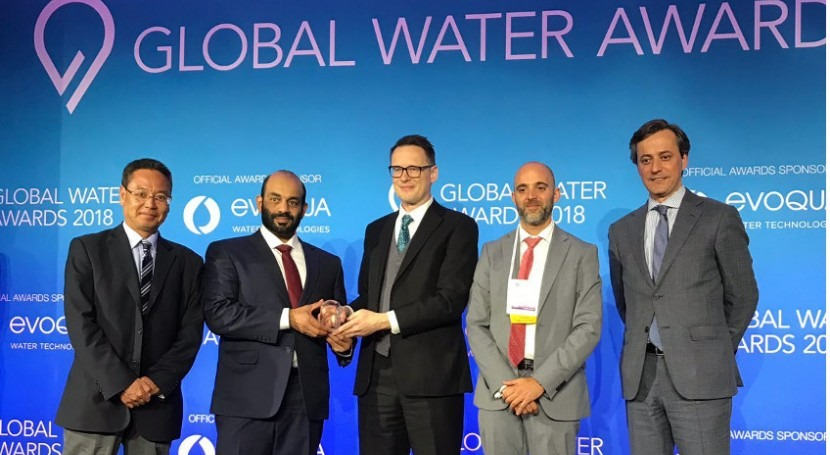 ACCIONA Agua, reconocida dos Distiction Awards Premios Global Water Intelligence