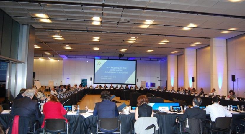 Fundación Aquae, nuevo miembro Iniciativa Gobernanza Agua OCDE
