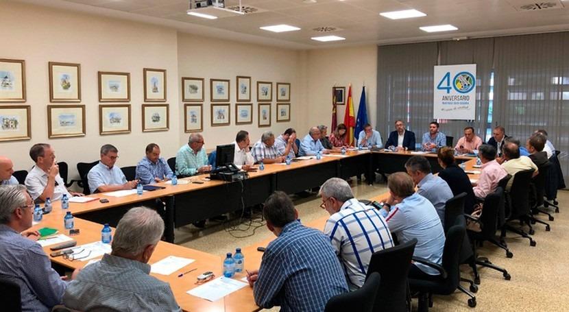 Murcia coordina evaluación daños sufridos campo fuertes lluvias