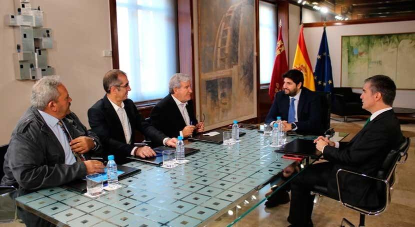 Murcia financiará proyecto desnitrificar agua Mar Menor