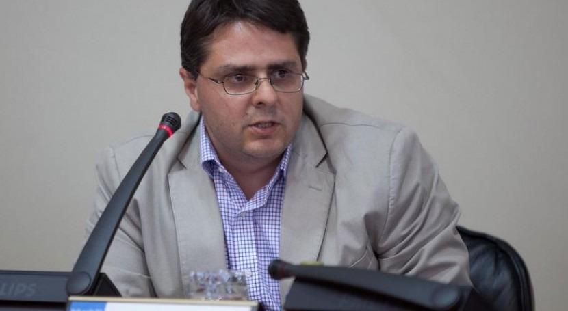 El director de Augas de Galicia, Gonzalo Mosqueira.