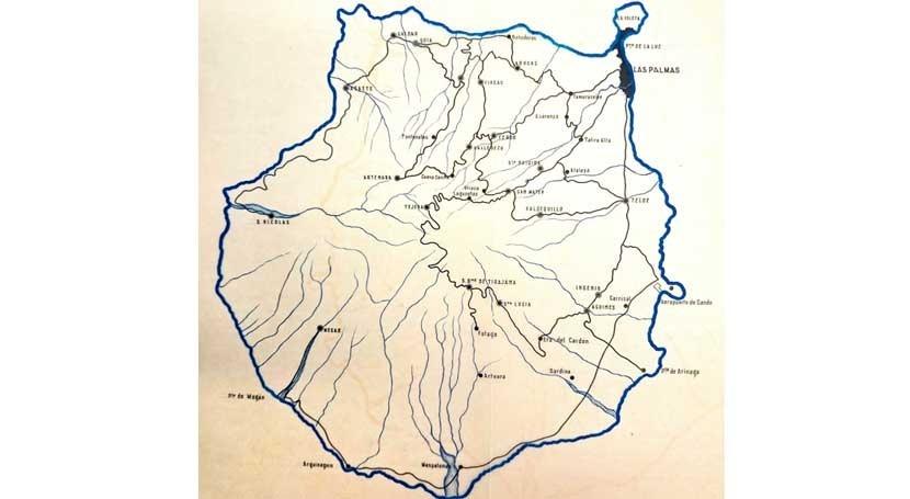Consejería insular Aguas #GranCanaria, obstruccionista patrimonio cultural
