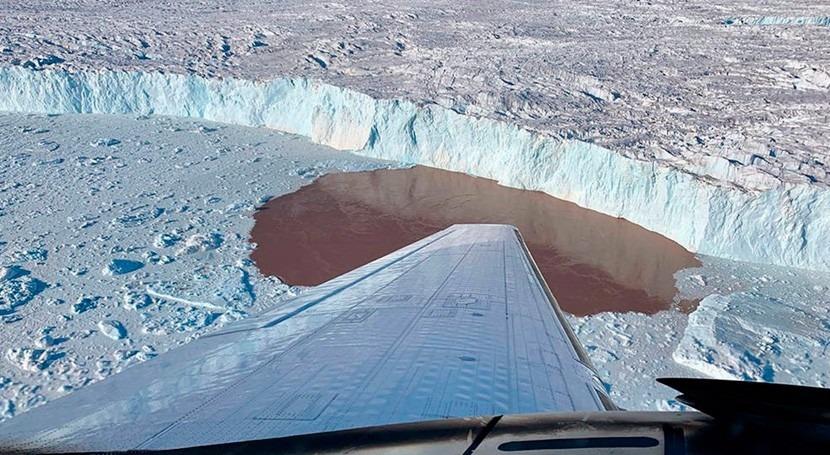 estudio revela que deshielo Groenlandia lo provocan glaciares más grandes