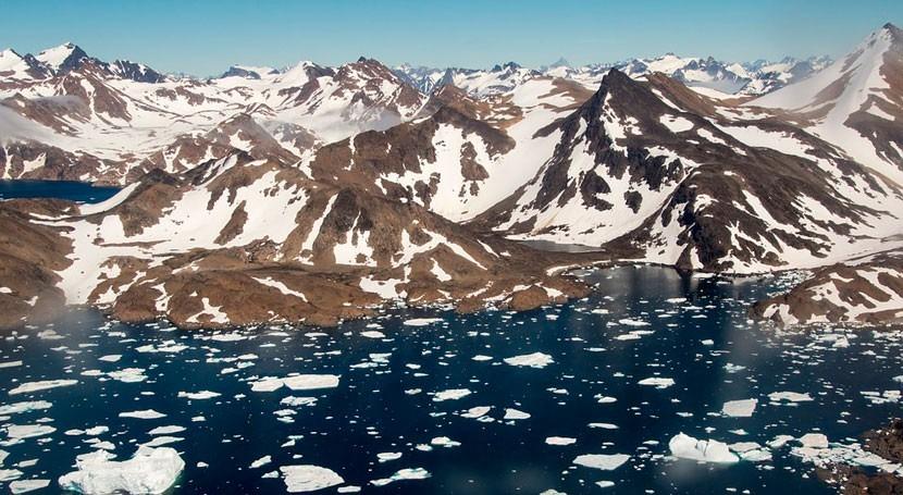calentamiento global, responsable crecimiento deltas Groenlandia