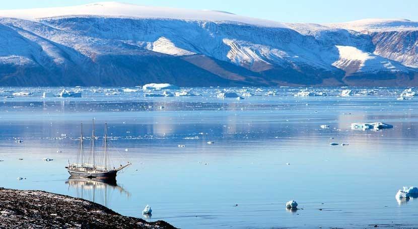 calentamiento global provoca que Groenlandia se derrita mucho más rápido que hace 50 años