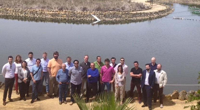 Integrantes consorcio iMETland se reúnen CENTA