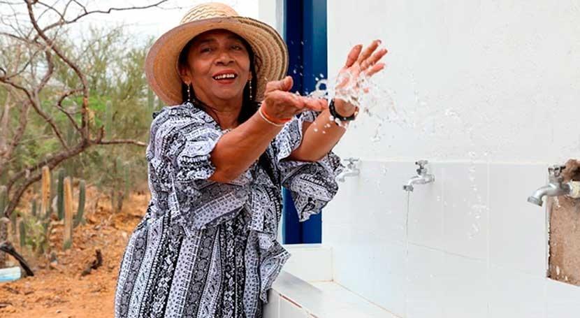 Avanzan intervenciones Programa Guajira Azul, Colombia