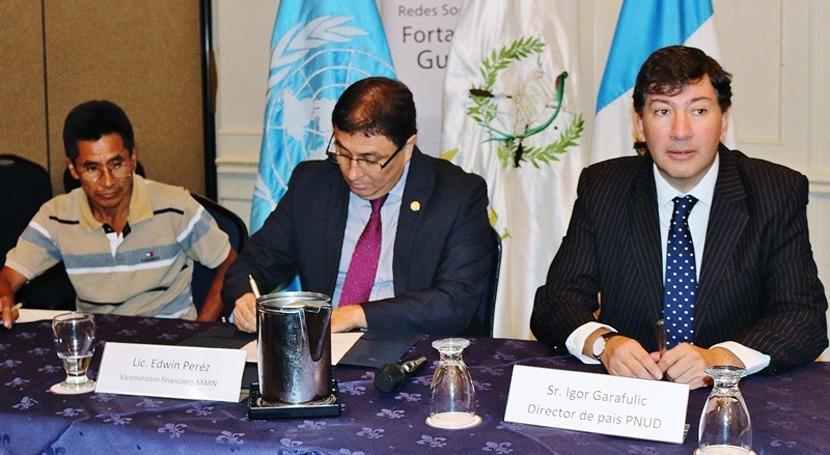 Guatemala busca reducir vulnerabilidad cambio climático 12 municipios