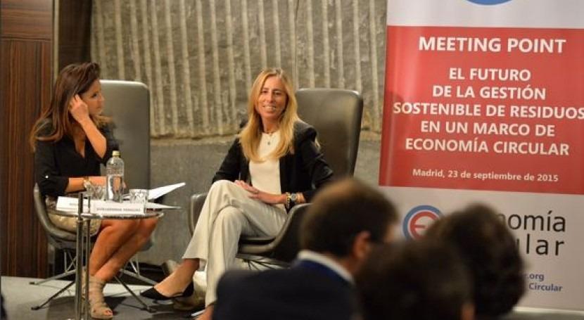 España debate futuro gestión sostenible marco economía circular