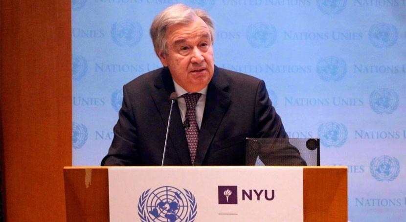 António Guterres llama movilización mundo acción climática