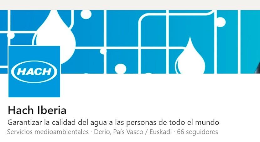 Hach Iberia abre cuenta LinkedIn