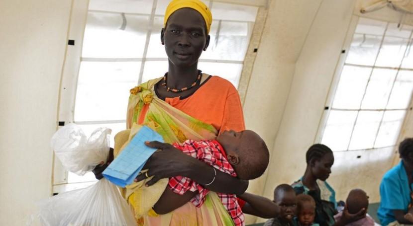 Lluvias intensas, sequías y Niño dejan millón niños desnutrición África