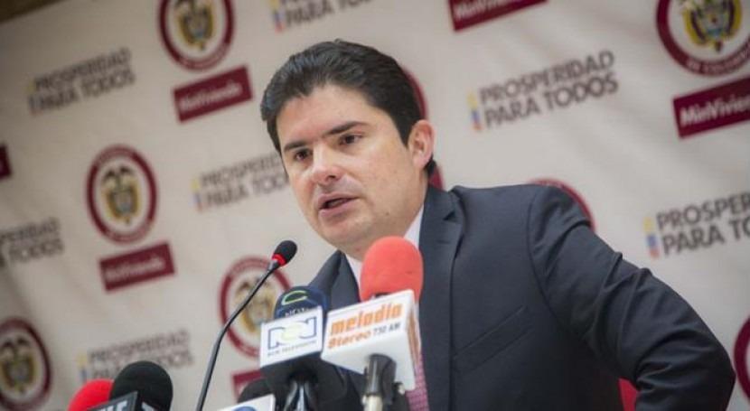 Luis Felipe Henao Cardona, Ministro de Vivienda, dio a conocer los resultados de la licitación para el acueducto de Yopal