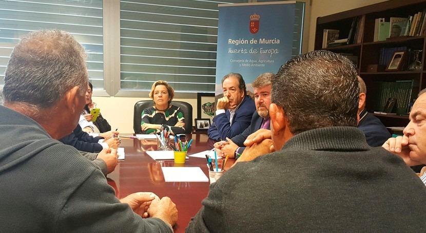 regantes Heredamiento Molina, Murcia, podrán continuar actividad agrícola