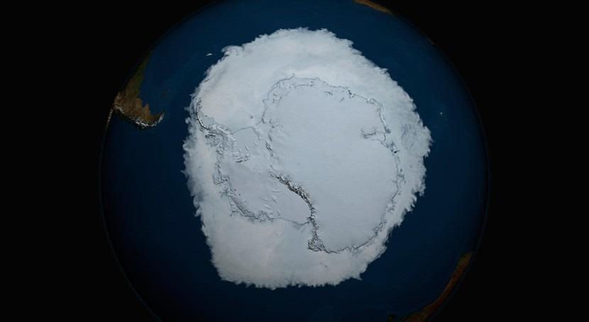 fluctuación natural explicaría crecimiento hielo marino Antártida