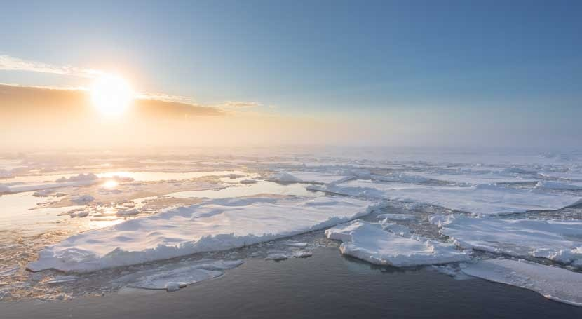 hielo Ártico se enfrenta próximo verano mínimo histórico