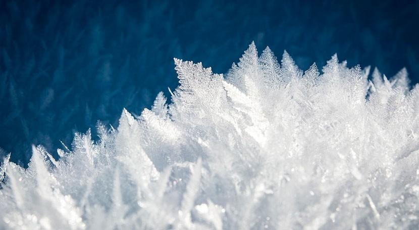 Reproducida formación hielo extraterrestre tiempo real