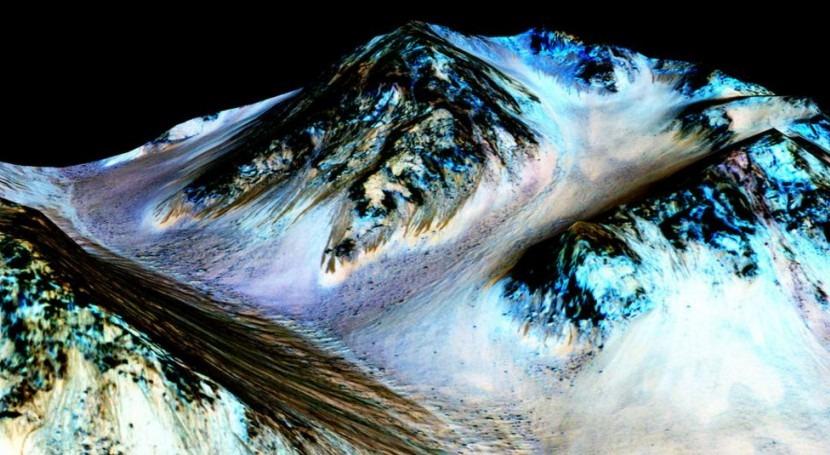 Dos geólogos españoles demuestran existencia glaciares activos Marte