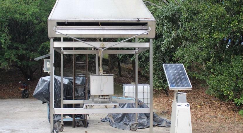 ¿Es posible fabricar hielo partir calor luz solar?