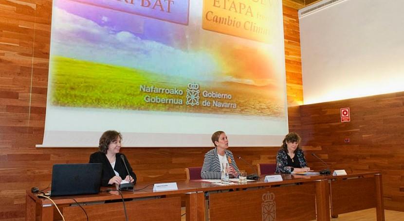 Navarra reúne administración, profesionales y ciudadanos debatir cambio climático