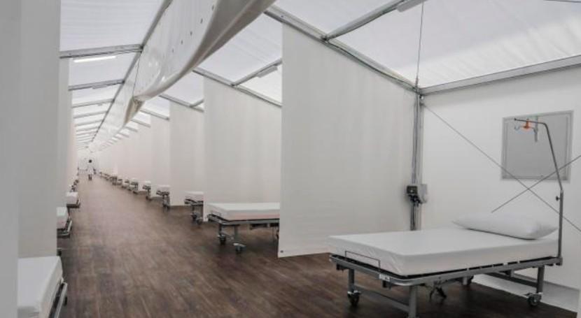 sistema Flovac hospitales campaña COVID-19 sigue pleno funcionamiento