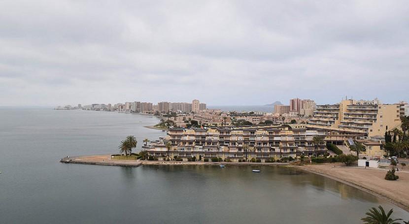 nivel agua mar Menor podría aumentar 1,5 metros próximos 100 años