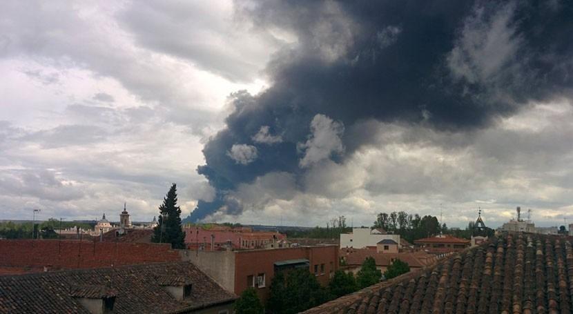 Zanjas y balsa impermeabilizada evitarán que se filtren cenizas incendio Seseña