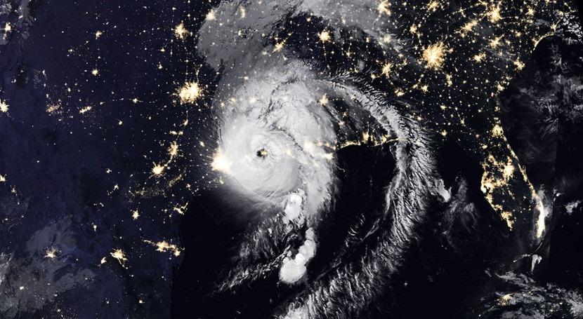 fuerza huracán Laura, otra posible muestra cambio climático