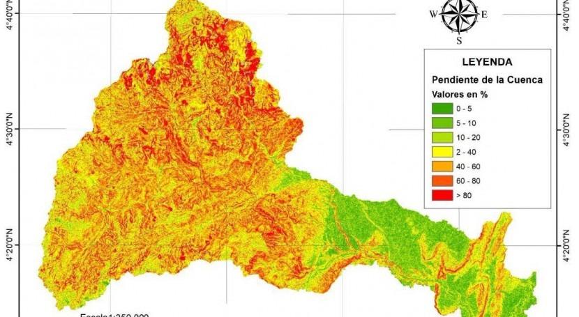 Escenarios cambio climático Colombia y Uruguay